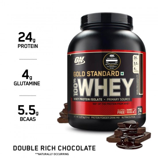 Gold Standard Whey Protein 5Lbs by Optimum Nutrition-Pakistan